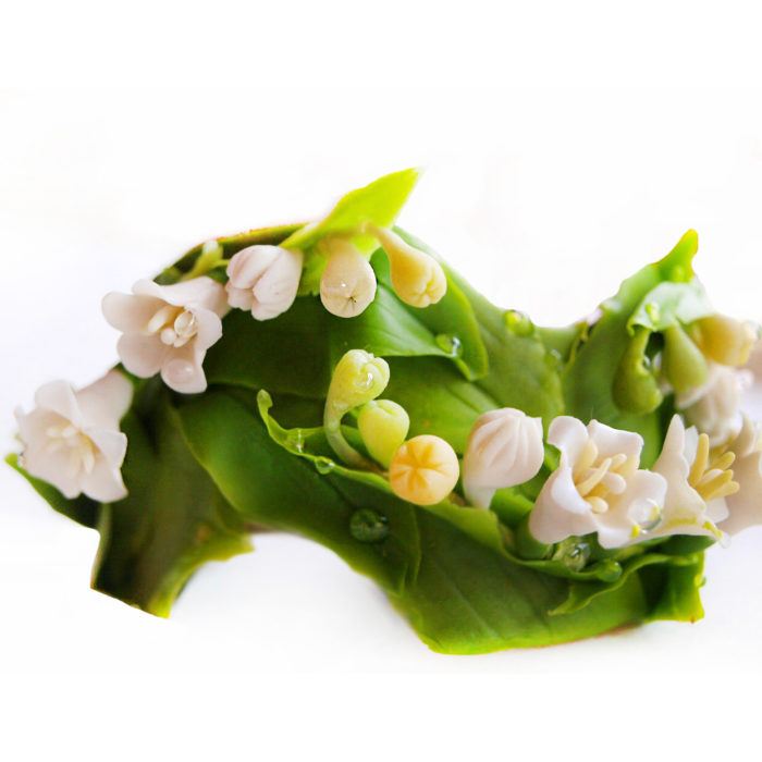 Artificial Lily Of The Valley Flower Bracelet