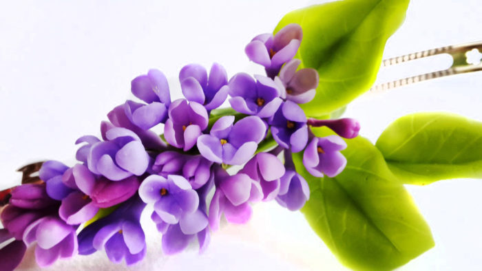 Lilac Wedding Hair Accessories 1