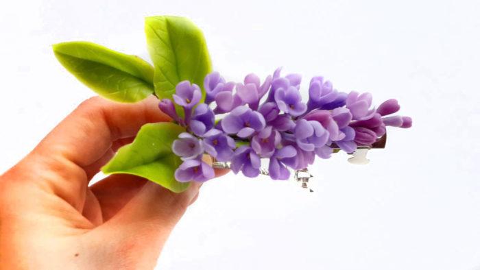 Lilac Wedding Hair Accessories 2