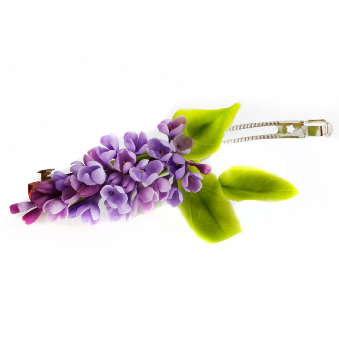 Lilac Wedding Hair Accessories