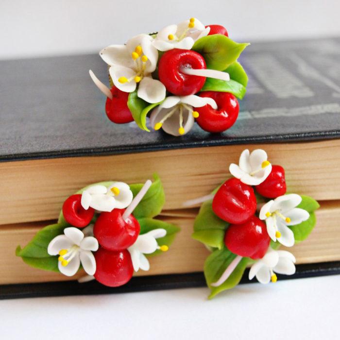 Cherry Jewelry Set