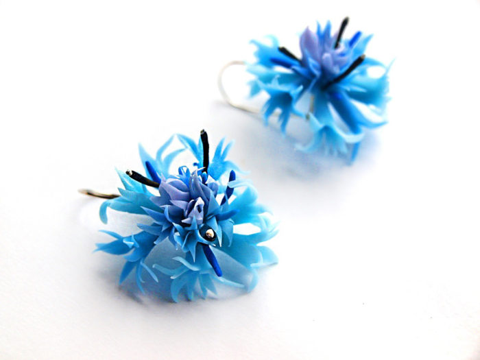 Cornflower Jewelry Set 2