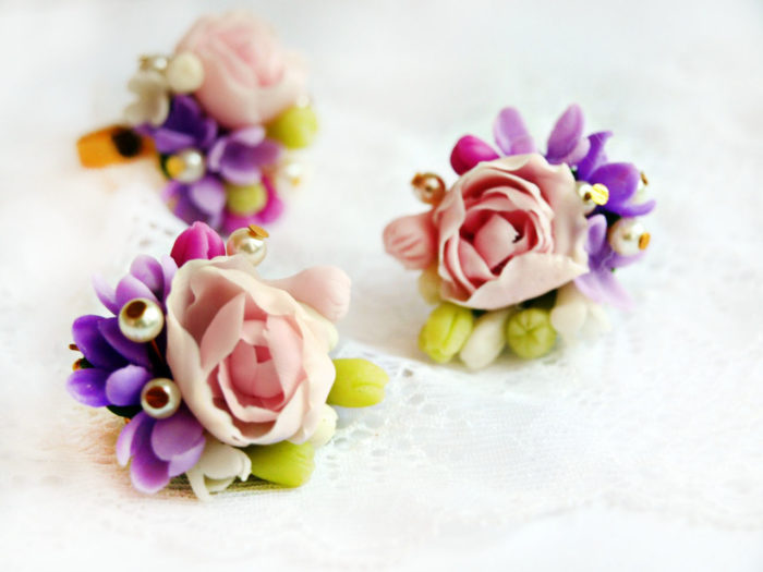 Tiny Flower Jewelry Set 1