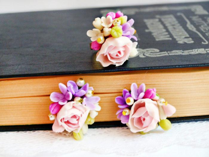Tiny Flower Jewelry Set