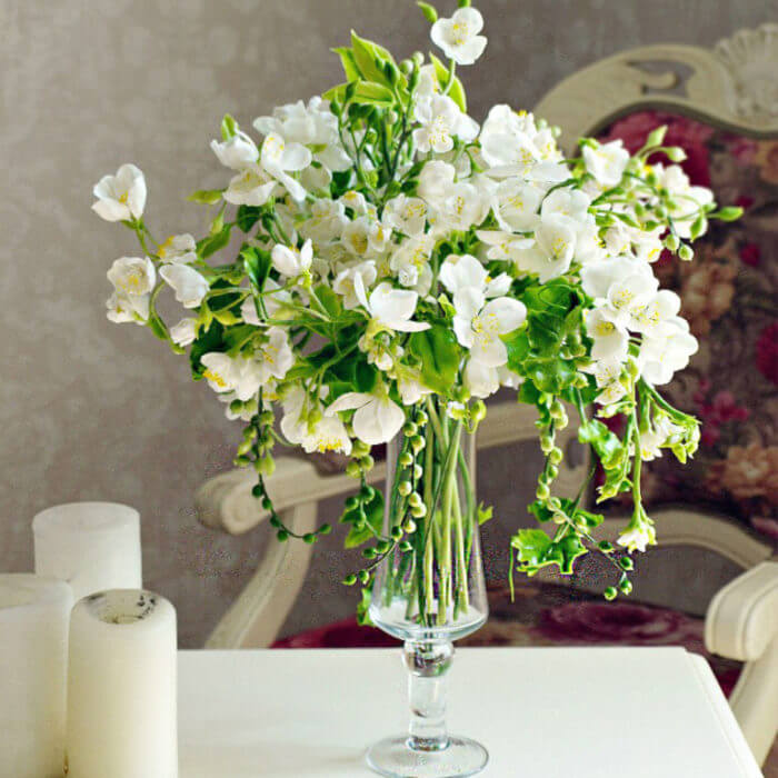 Apple Blossom Flower Arrangement | Oriflowers