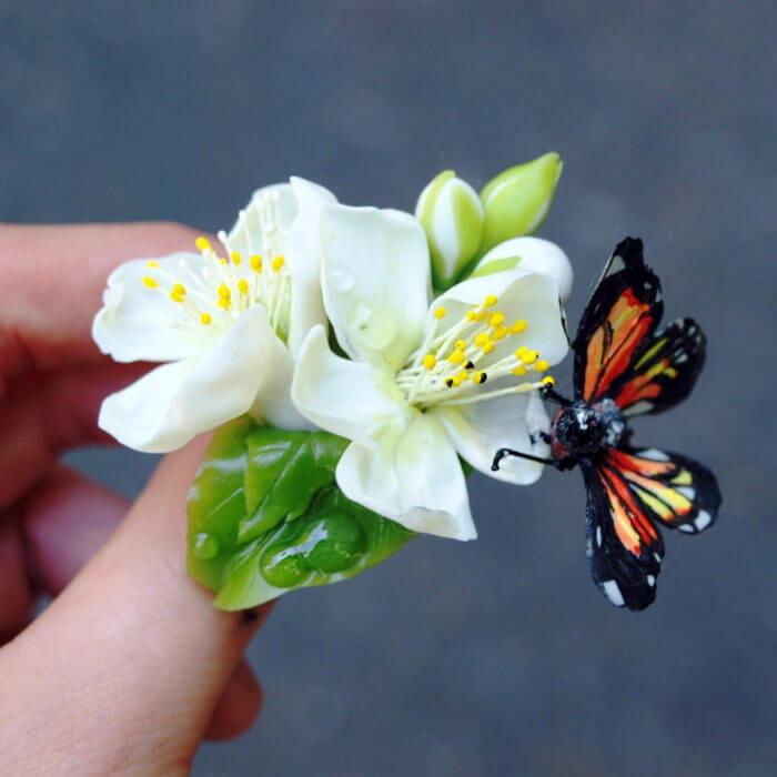 Apple Blossom Ring 3 | Oriflowers
