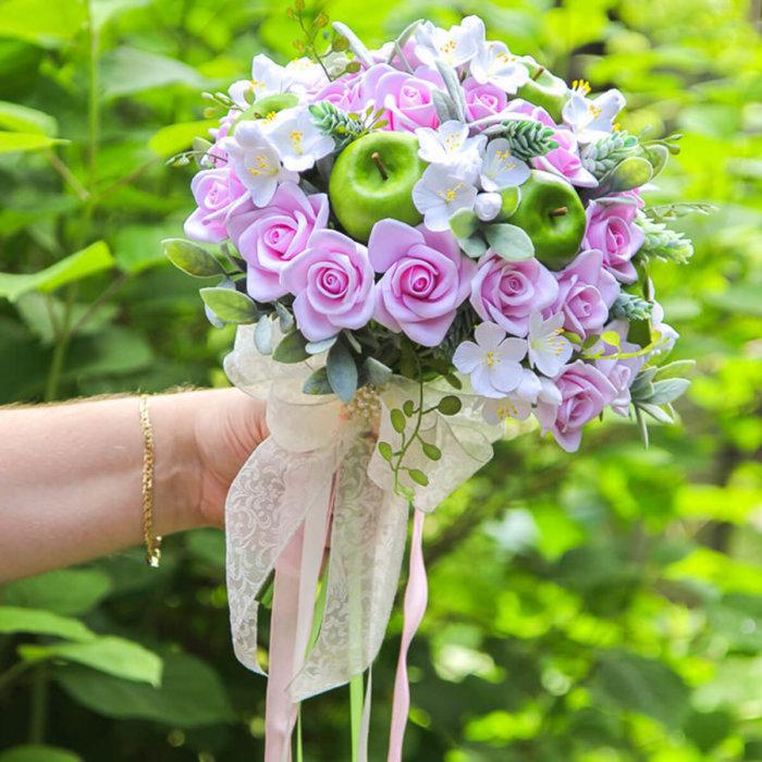 Apple Blossom Wedding Bouquet 2   Oriflowers