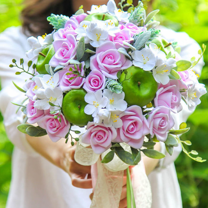 Apple Blossom Wedding Bouquet | Oriflowers