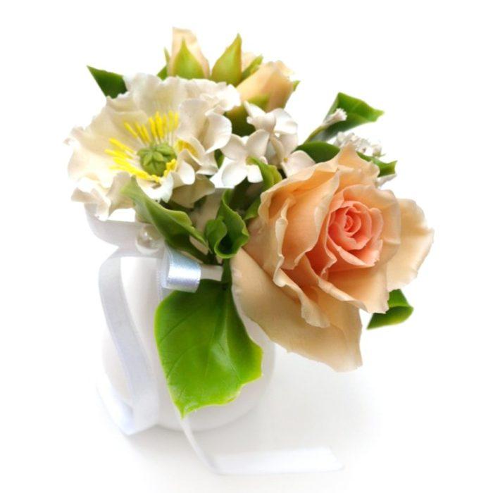 Artificial Floral Arrangement, Handmade Flowers 1 | Oriflowers