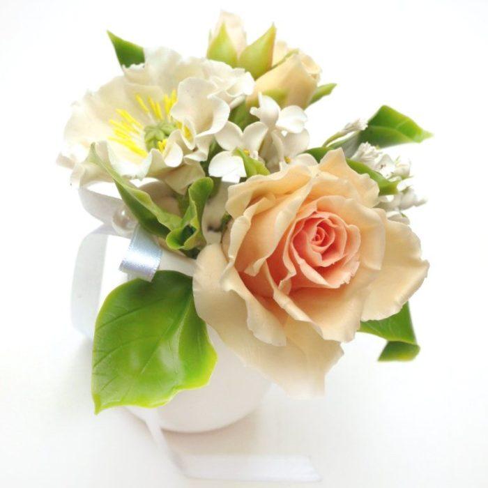 Artificial Floral Arrangement, Handmade Flowers | Oriflowers