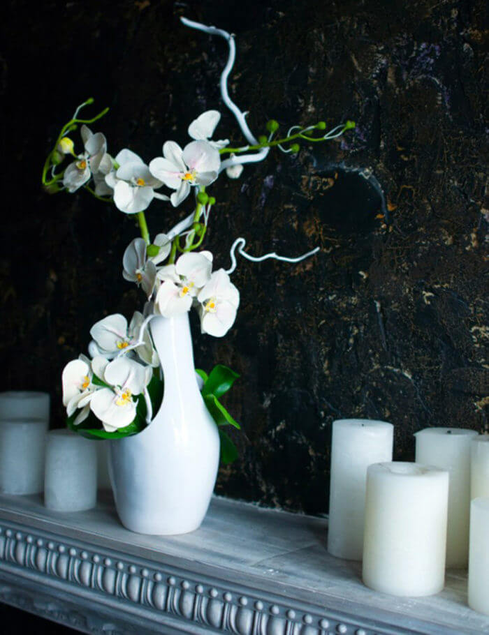 Artificial Orchid Flower Arrangement | Oriflowers