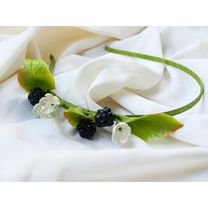 Blackberry Headband | Oriflowers