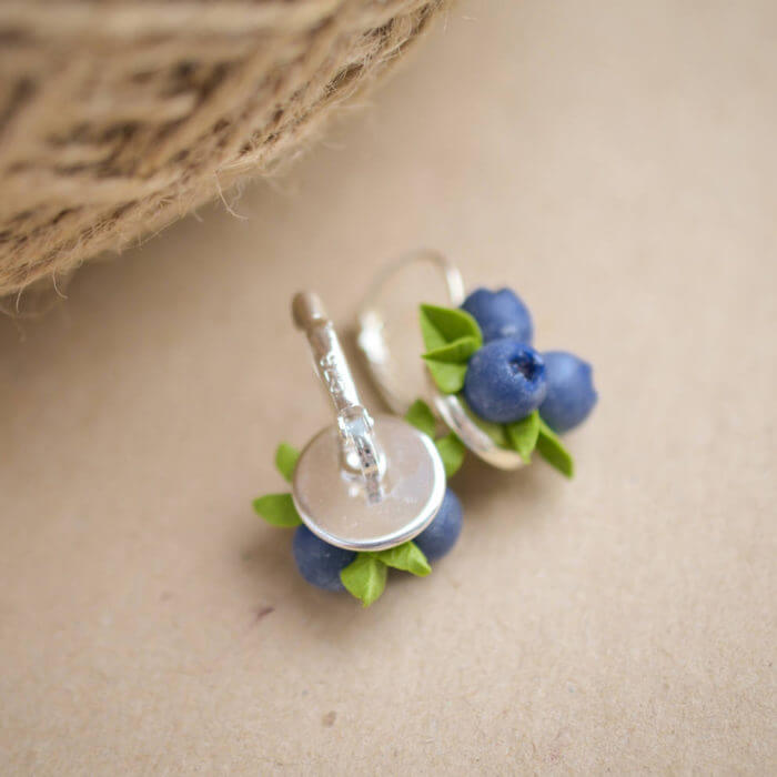 Blueberry Earrings 2 | Oriflowers