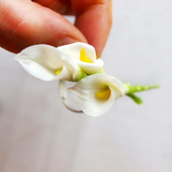 Calla Lily Ring 1 | Oriflowers