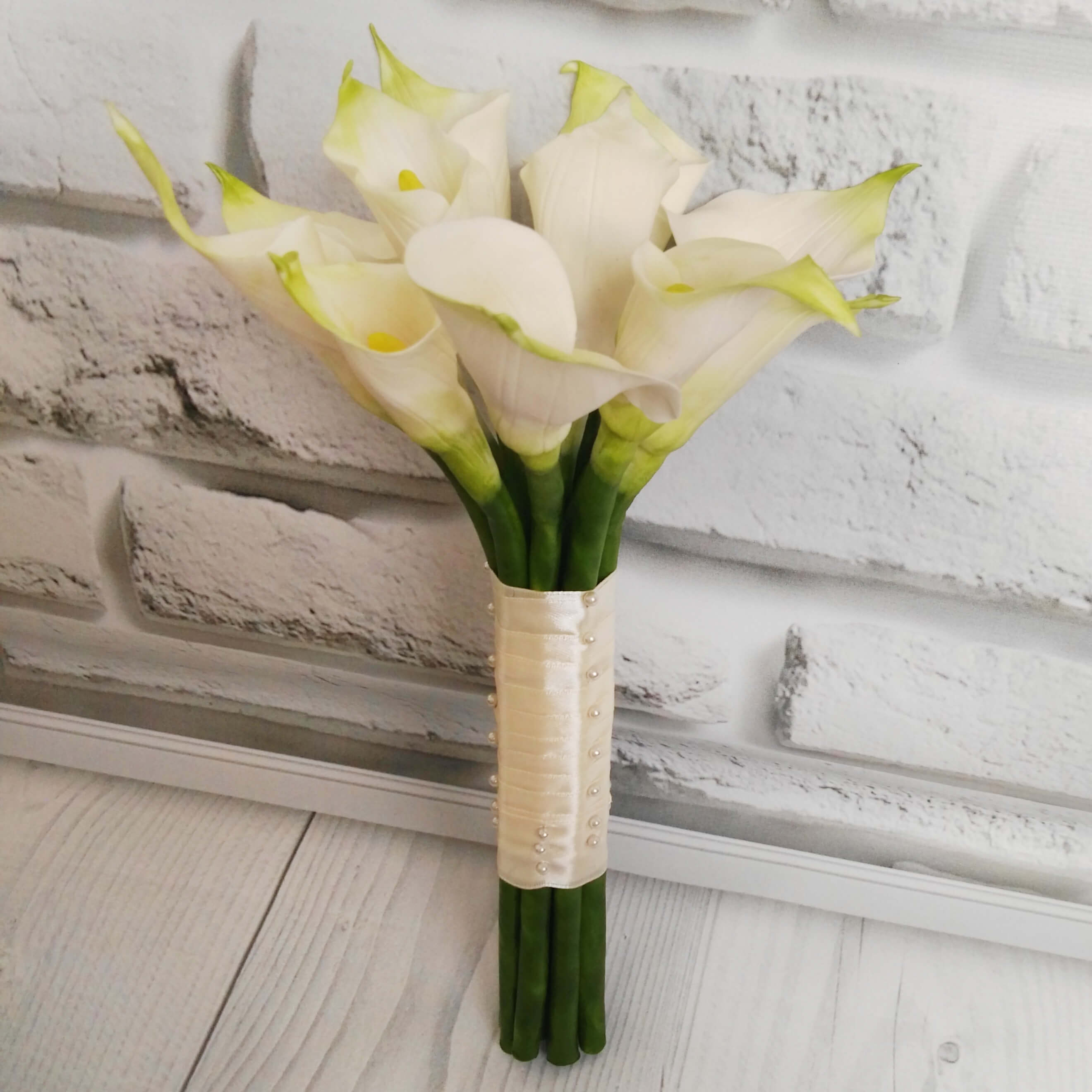 Calla Lily Wedding Bouquet Handmade With Love Oriflowers
