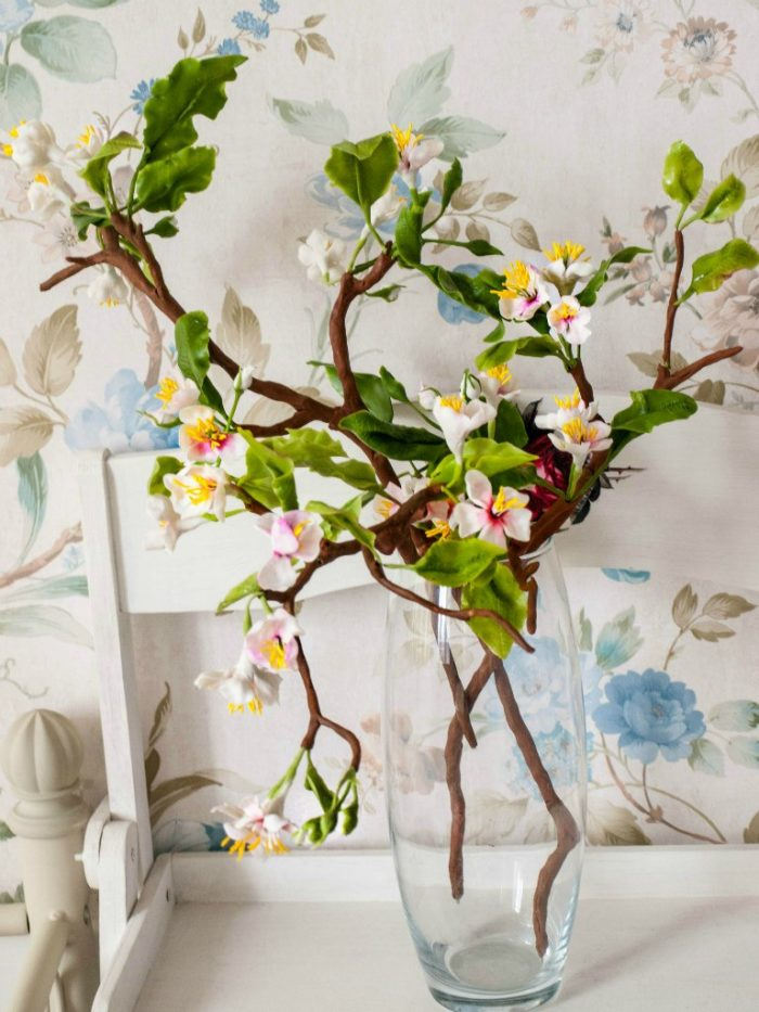 Cherry Blossom Artificial Flowers 2 | Oriflowers