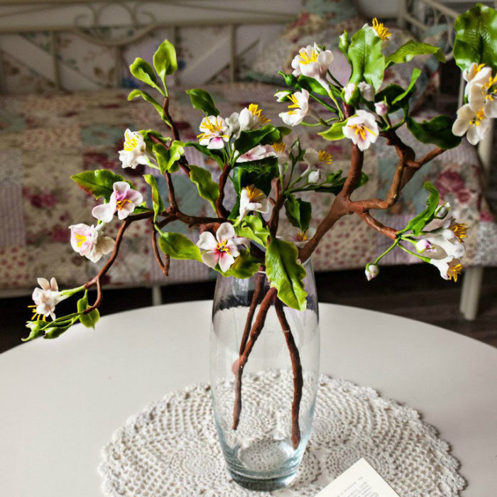 Cherry Blossom Artificial Flowers 3 | Oriflowers