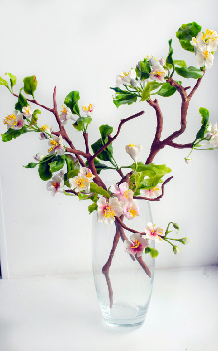 Cherry Blossom Artificial Flowers 4 | Oriflowers