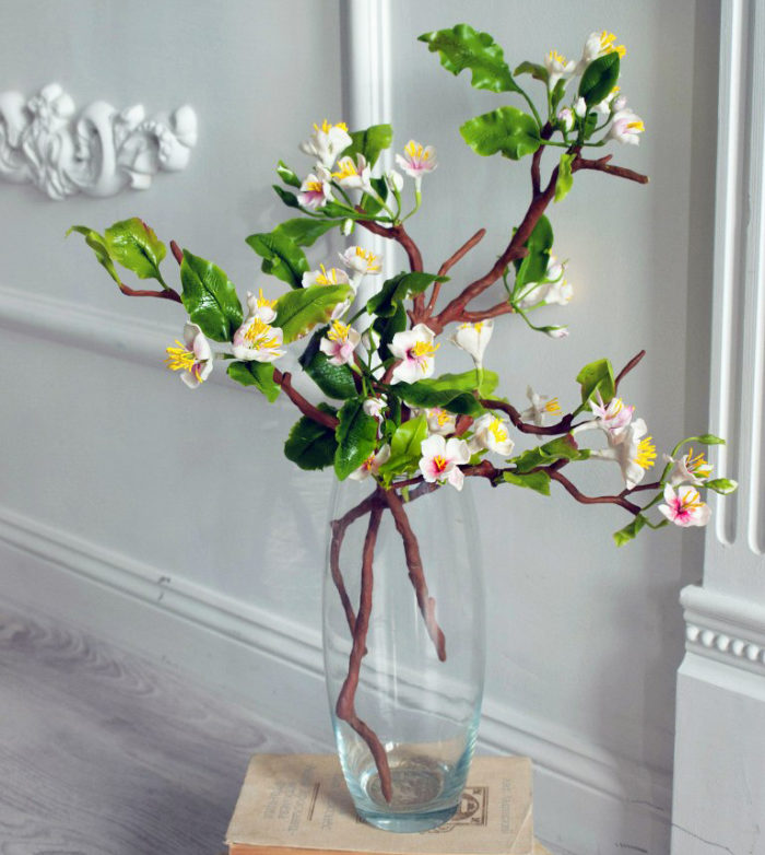 Cherry Blossom Artificial Flowers | Oriflowers