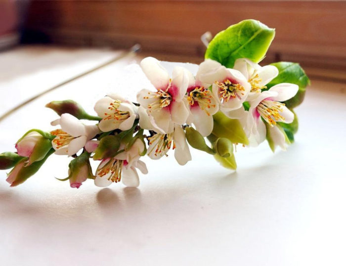 Cherry Blossom Headband 2 | Oriflowers