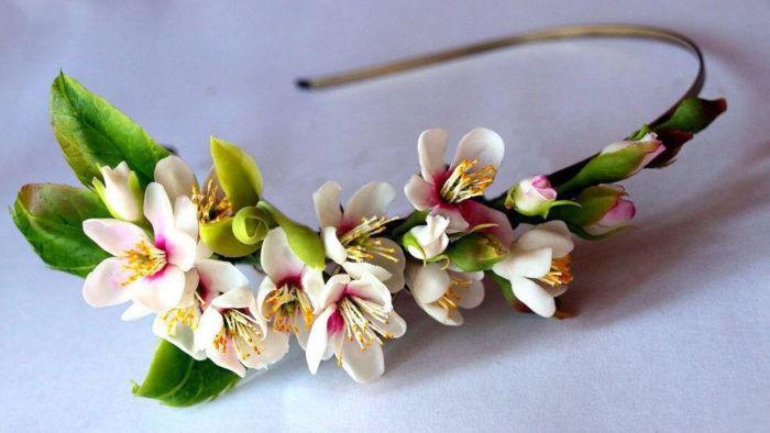Cherry Blossom Headband 3 | Oriflowers