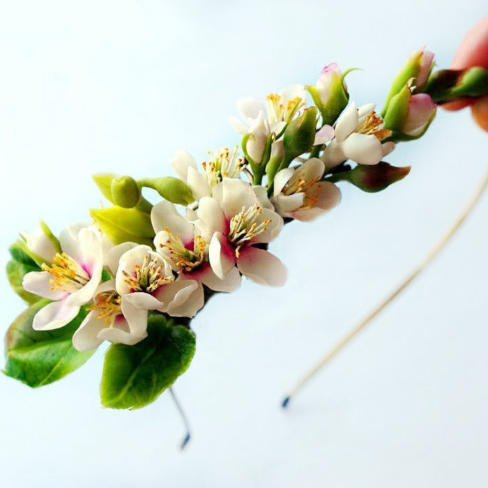 Cherry Blossom Headband | Oriflowers