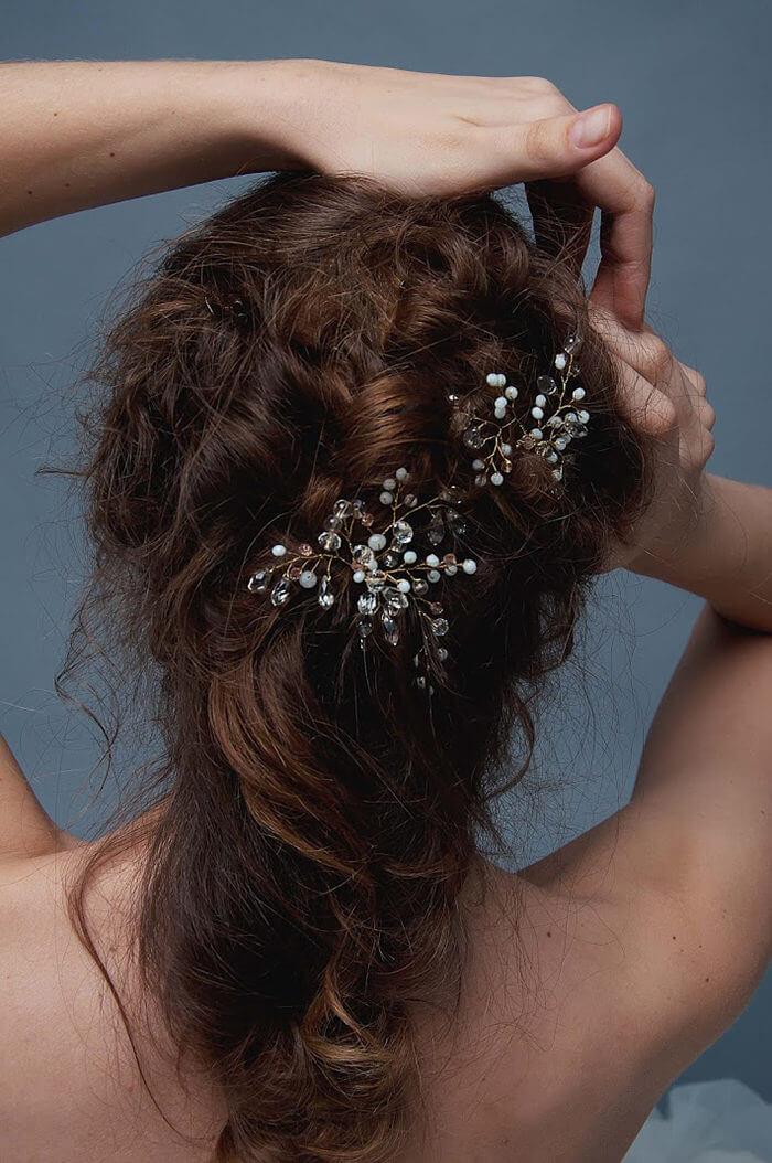Crystal Bridal Hair Pins 1 | Oriflowers