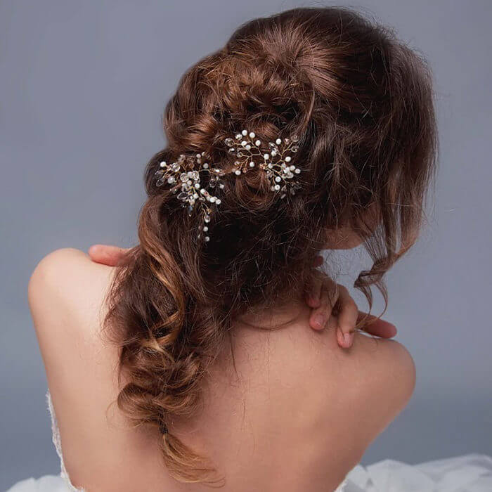 Crystal Bridal Hair Pins | Oriflowers