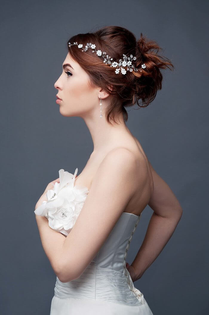 Crystal Bridal Hair Vine 2 | Oriflowers
