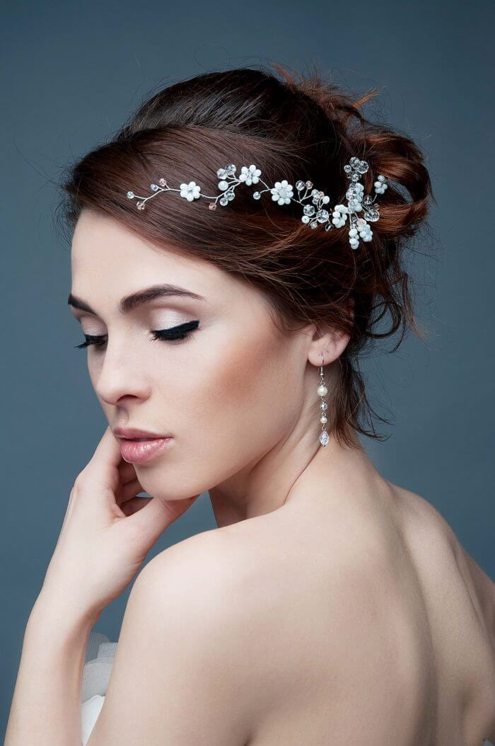 Crystal Bridal Hair Vine 3 | Oriflowers