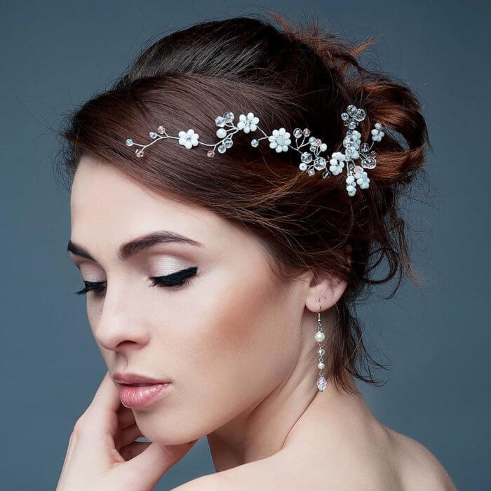 Crystal Bridal Hair Vine | Oriflowers