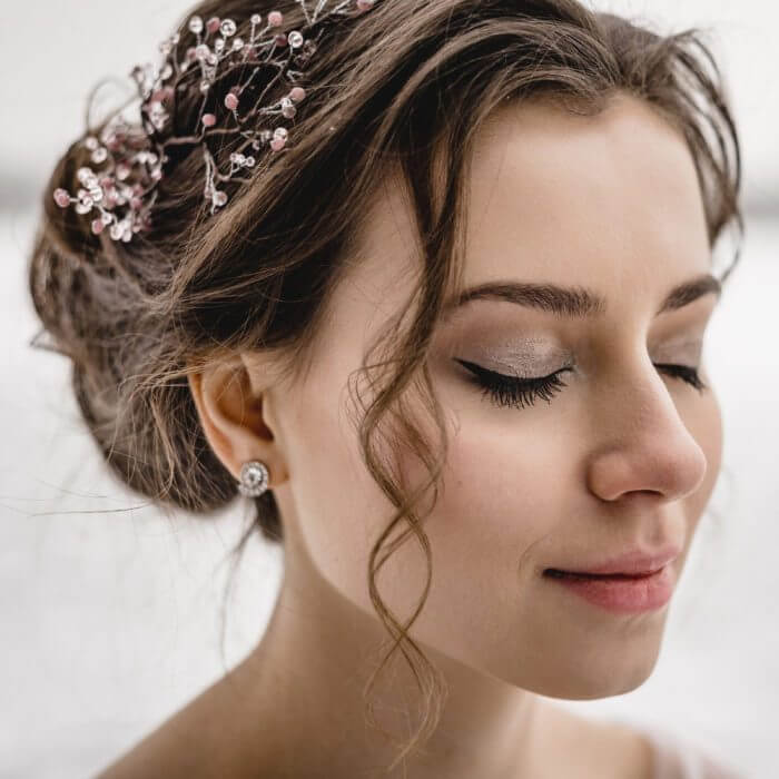 Crystal Hair Piece 2 | Oriflowers