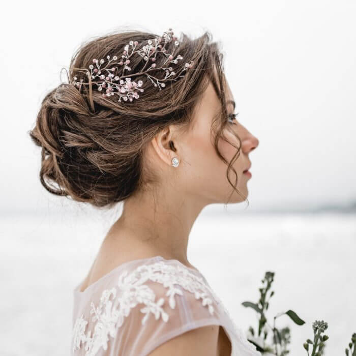 Crystal Hair Piece 4 | Oriflowers