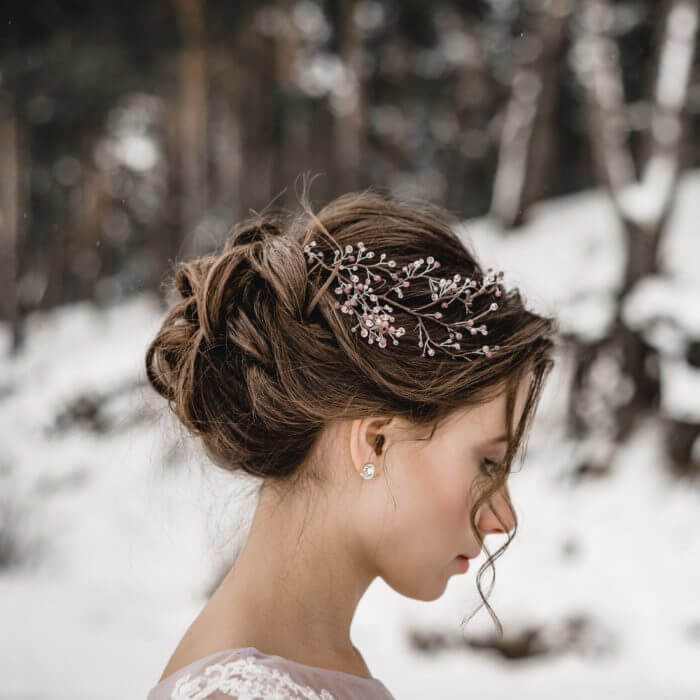 Crystal Hair Piece 5 | Oriflowers