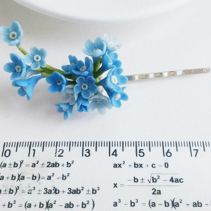 Flower Bobby Pins, Hair Accessories | Oriflowers