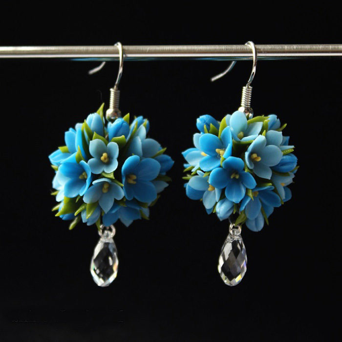 Forget Me Not Earrings 1 | Oriflowers