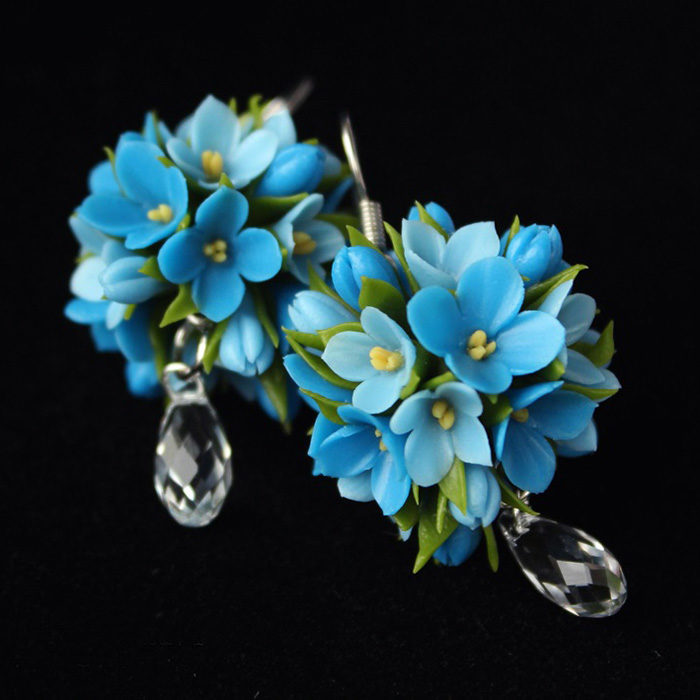 Forget Me Not Earrings 2 | Oriflowers