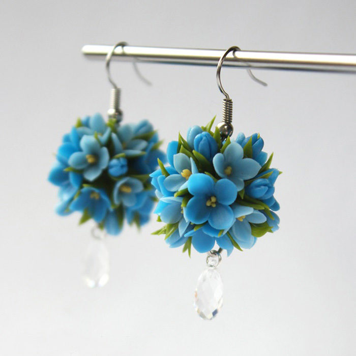 Forget Me Not Earrings | Oriflowers
