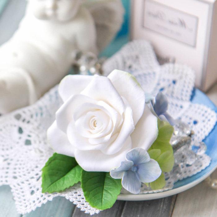 Hydrangea And Rose Boutonniere 3   Oriflowers