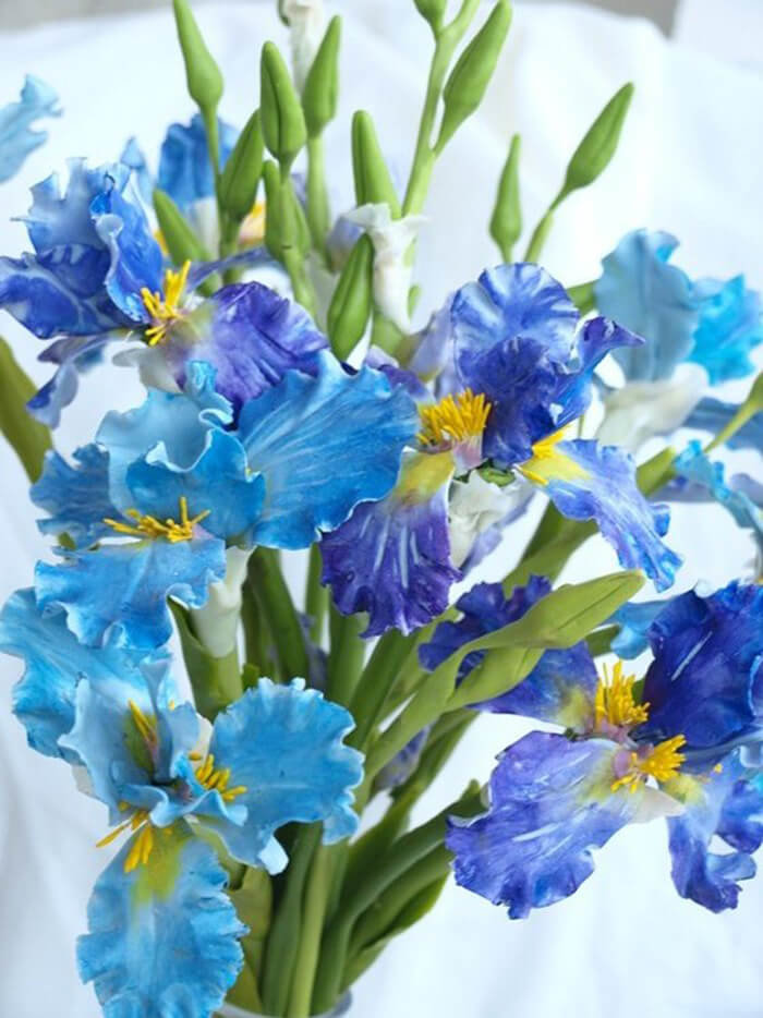 Iris Flower Arrangement 1 | Oriflowers