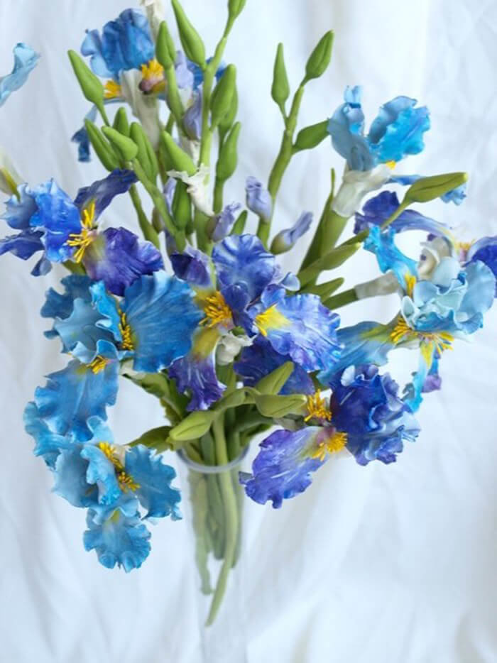 Iris Flower Arrangement 2 | Oriflowers