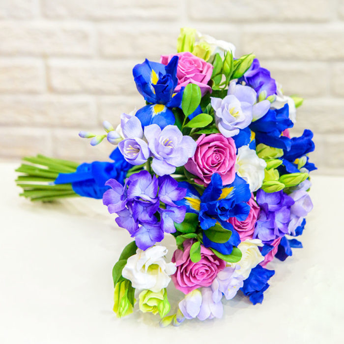 Iris Wedding Bouquet 2 | Oriflowers