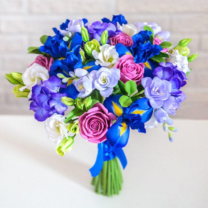 Iris Wedding Bouquet | Oriflowers