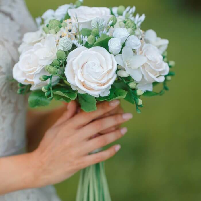 Ivory Rose Wedding Bouquet 41 | Oriflowers