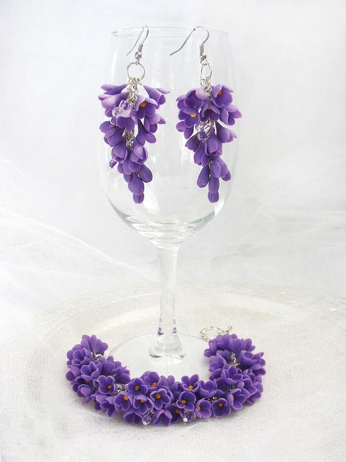 Lilac Jewelry Set 1 | Oriflowers