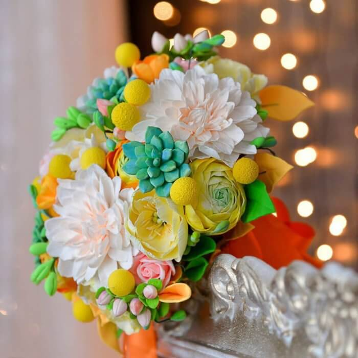 Orange Wedding Bouquet 3 | Oriflowers