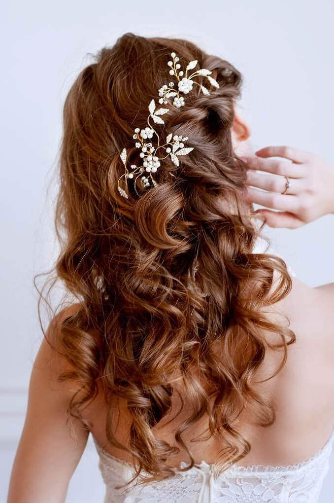 Pearl Bridal Hair Pins 2 | Oriflowers