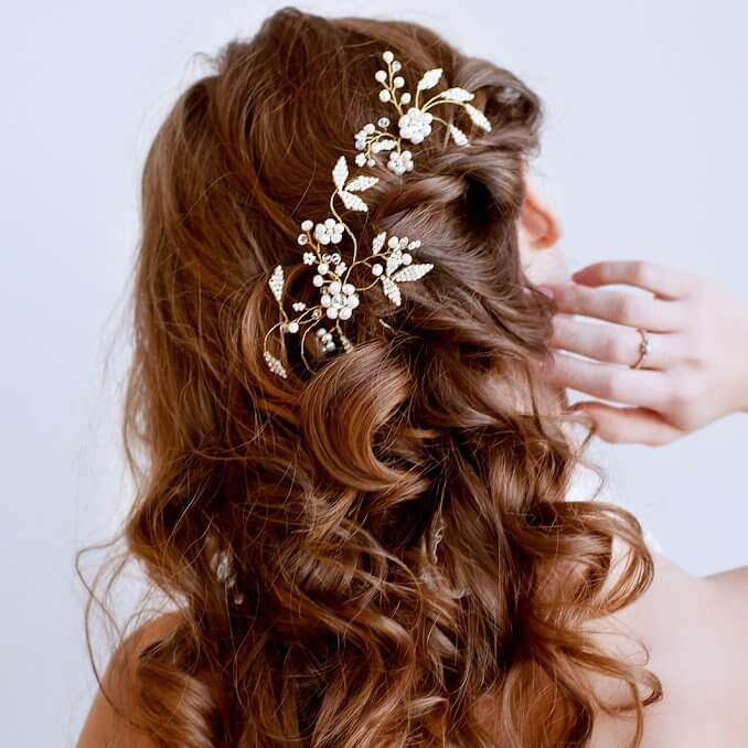 Pearl Bridal Hair Pins | Oriflowers