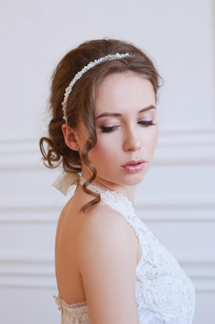 Pearl Bridal Headband 1 | Oriflowers