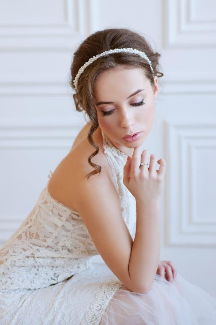 Pearl Bridal Headband 2 | Oriflowers